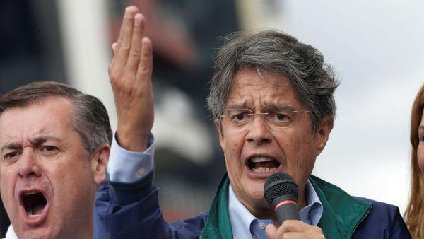 El opisitor Guillermo Lasso recibió el apoyo de la mayoría de los candidatos que no ingresaron al ballotage.