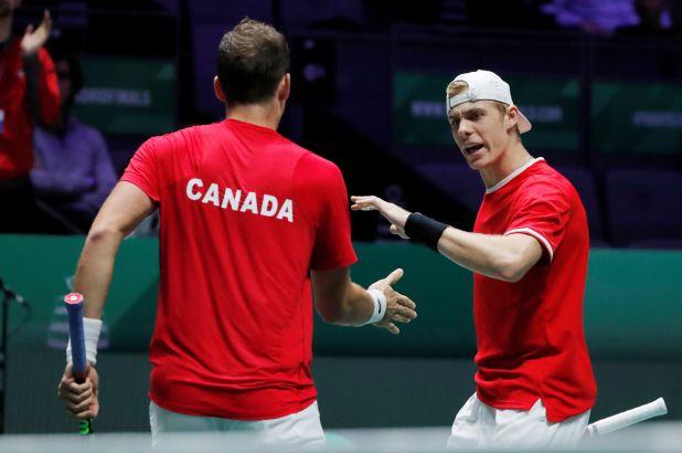 Canadá se impuso a Rusia y llegó a la final de la Copa Davis  REUTERS/Susana Vera