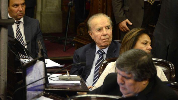 El ex presidente está internado en terapia intensiva (DyN)