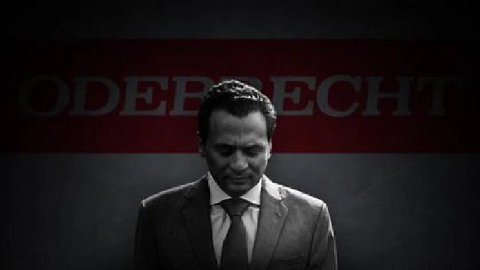 Former Pemex director Emilio Lozoya faced his first hearing on the Odebrecht case on Thursday (Photo art: Jovani Pérez Silva / Infobae)