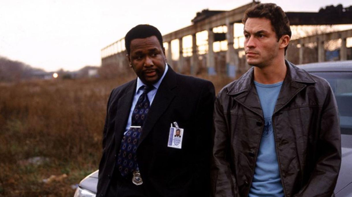 """The Wire"" con Dominic West y Wendell Pierce"