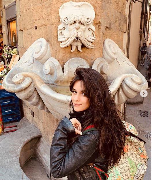 Camila Cabello estuvo en la Toscana, Italia. (Foto: Instagram)