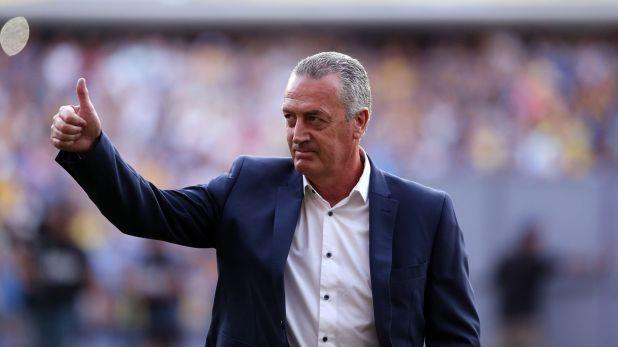 Gustavo Alfaro se despidió de los hinchas de Boca