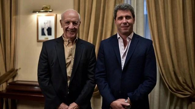 El gobernador de San Juan respaldó la candidatura de Roberto Lavagna