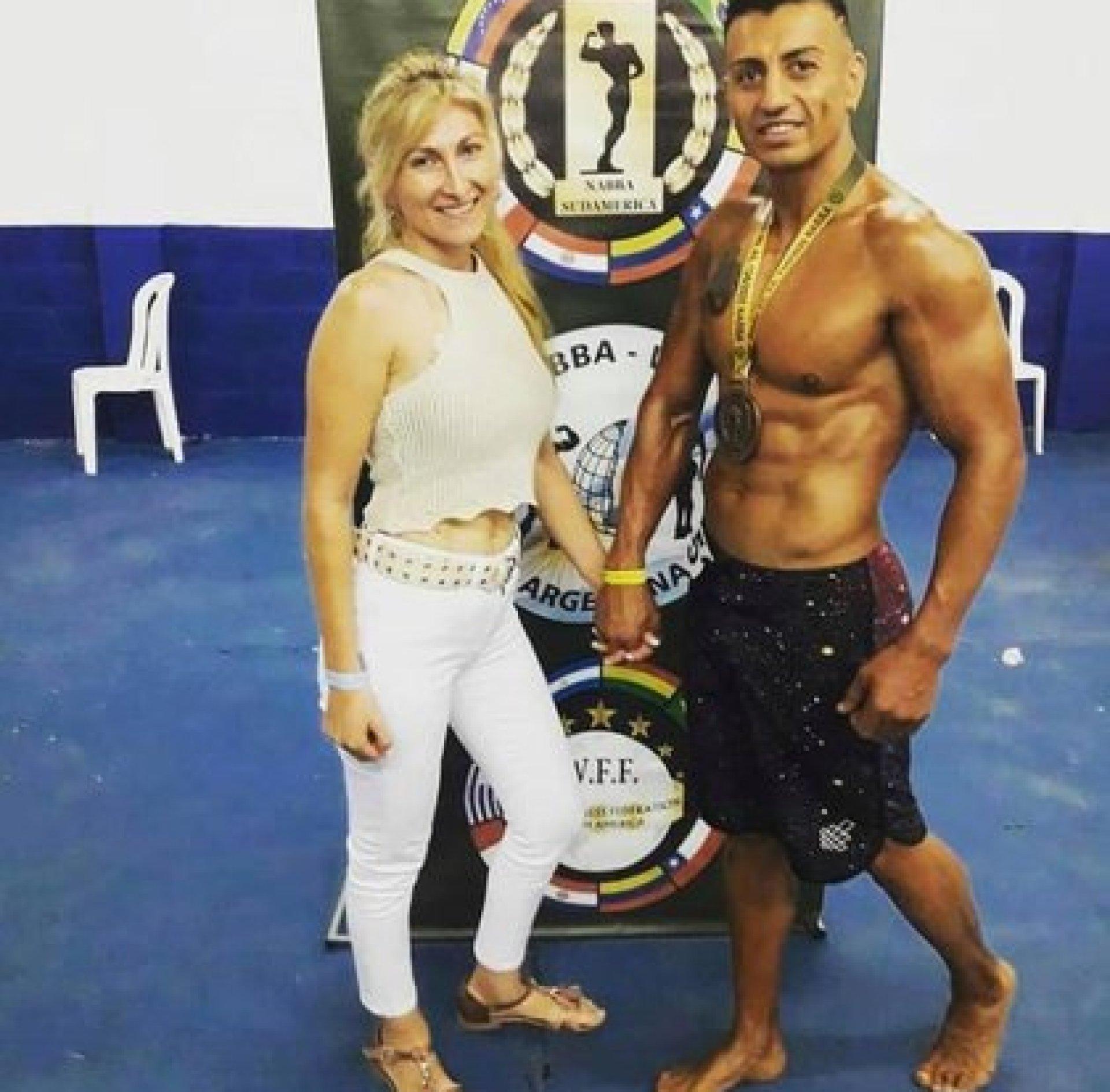Samuel Llanos y Analía Maldonado eran intensamente buscados en Los Toldos desde este domingo (Facebook)