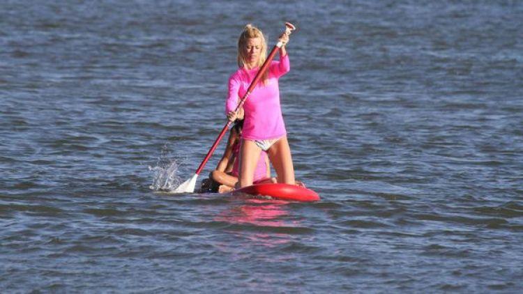 El deporte acuático se consolidó como una de las opciones predilectas en la ciudad balnearia