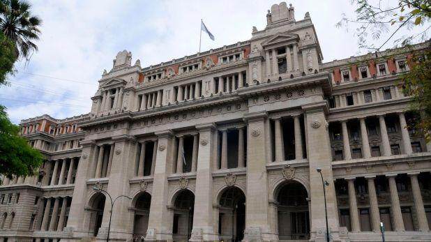 El Palacio de Tribunales (Foto NA)