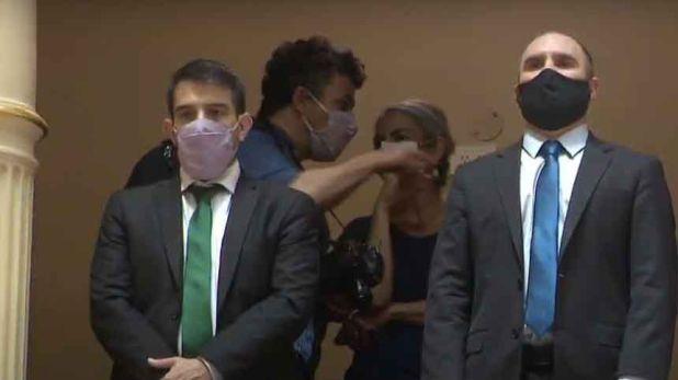 Senado Argentina - El Ministro Martin Guzman