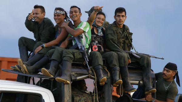 Guerrilleros de las FARC (AP)