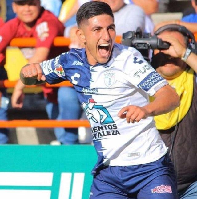 Guzmán dio positivo mientras jugaba para Pachuca en agosto de 2019 (Foto: Instagram @pochoguzman95)