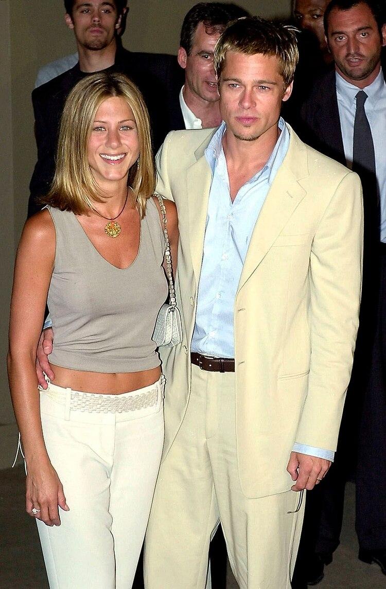 Brad Pitt y Jennifer Aniston se divorciaron en el año 2005 (AP)