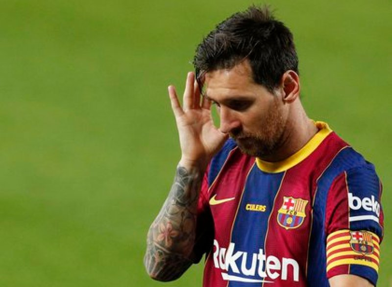 Messi acabó en el cuarto puesto junto a Neymar - REUTERS/Albert Gea