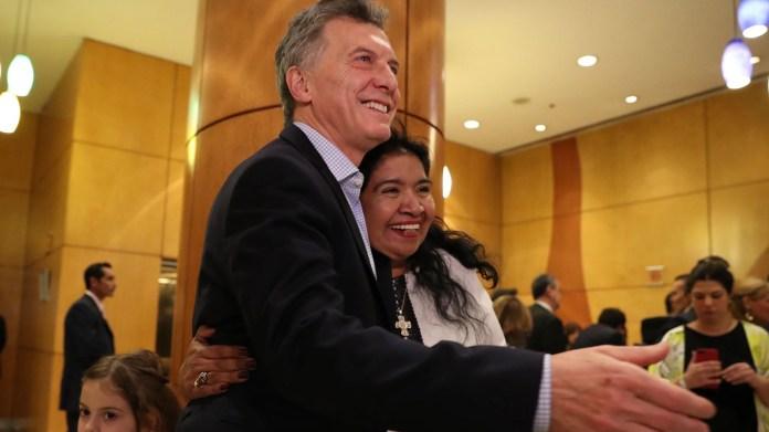 Mauricio Macri y Margarita Barrientos