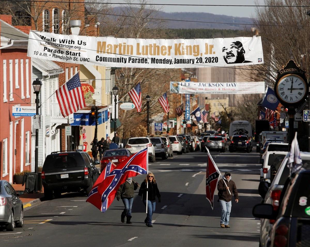 Los grupos de ultraderecha de EEUU marchan a Virginia para defender sus armas