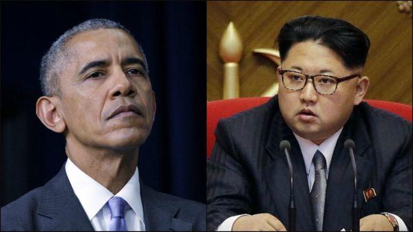 Barack Obama y Kim Jong-un