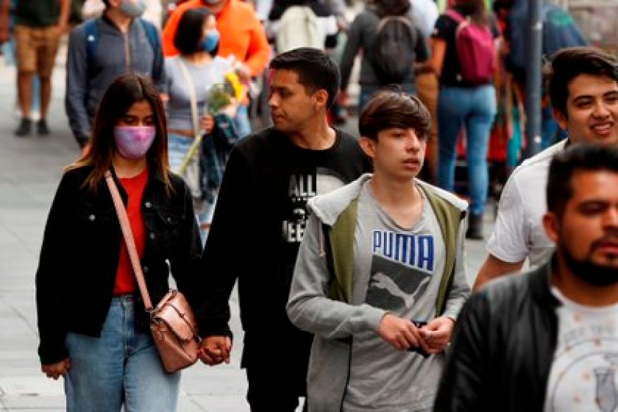 Mexico City concentrates the highest number of deaths and infections in the country (Photo: EFE)