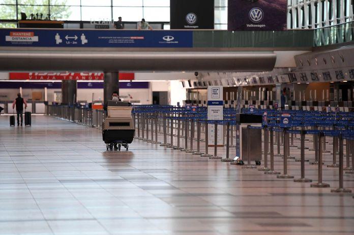 Arribos Internacionales Aeropuerto Ezeiza