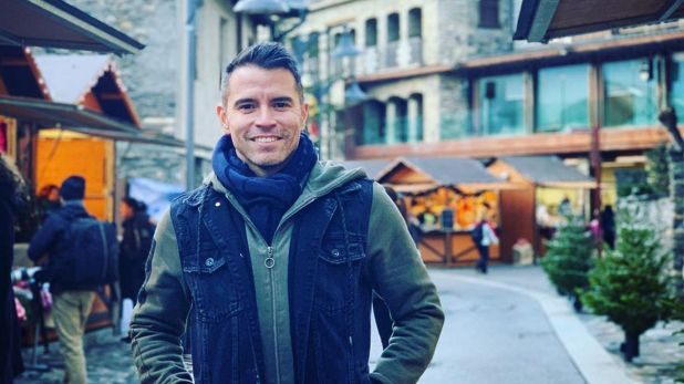Desde hace años, Javier Saviola reside en Andorra junto a su familia