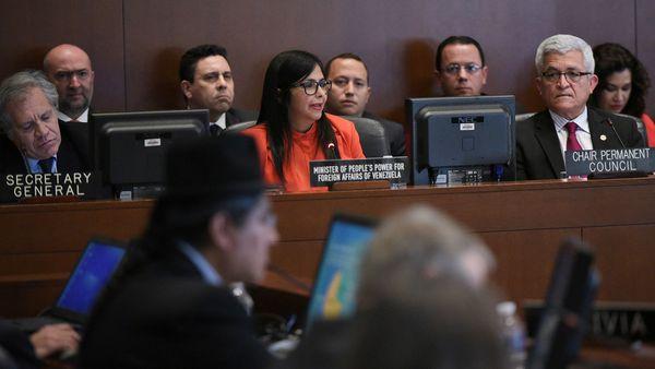 Delcy Rodríguez (AFP)