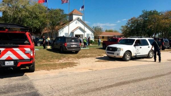 La iglesia en la que se perpetró el ataque (Twitter: @wsbtv)