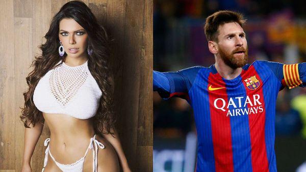 La Miss Bum Bum fan de Messi festejó el histórico triunfo del Barcelona con fotos hot