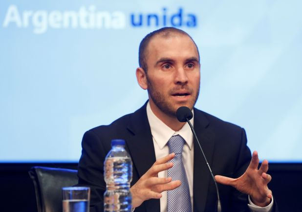 Martín Guzmán (REUTERS/Mariana Greif)