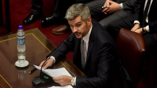 El jefe de Gabinete Marcos Peña (Nicolás Stulberg)