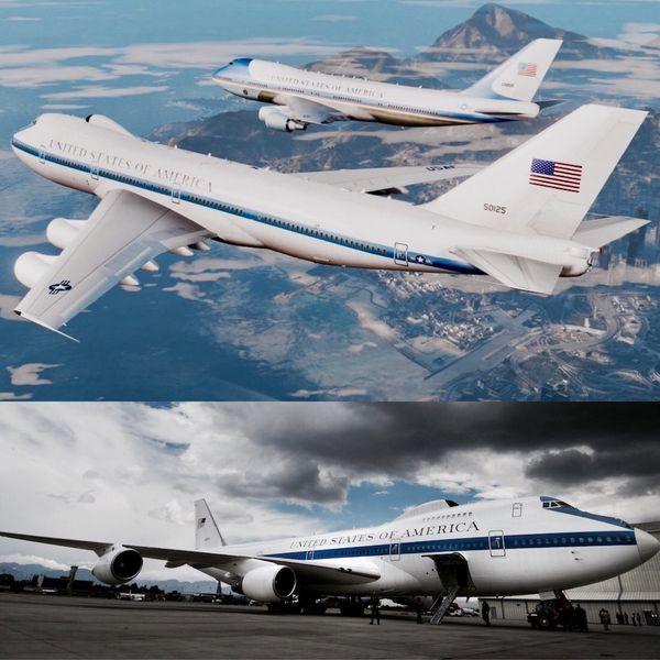 """Puesto en funcionamiento en 1975, los Boeing 747 adaptados son un producto de la """"Guerra Fría"""" momento histórico en el que el estallido de un conflicto nuclear entre los EEUU y la Unión Soviética parecía inminente"""