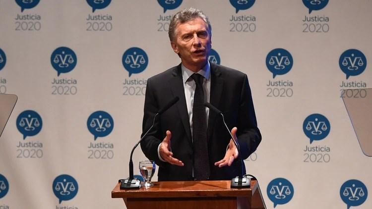 El presidente Mauricio Macri (Maximiliano Luna)
