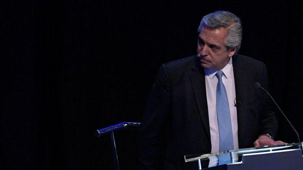 En el segundo debate presidencial, Alberto Fernández prometió crear un ministerio para el sector (Photo by Juan Mabromata / AFP)