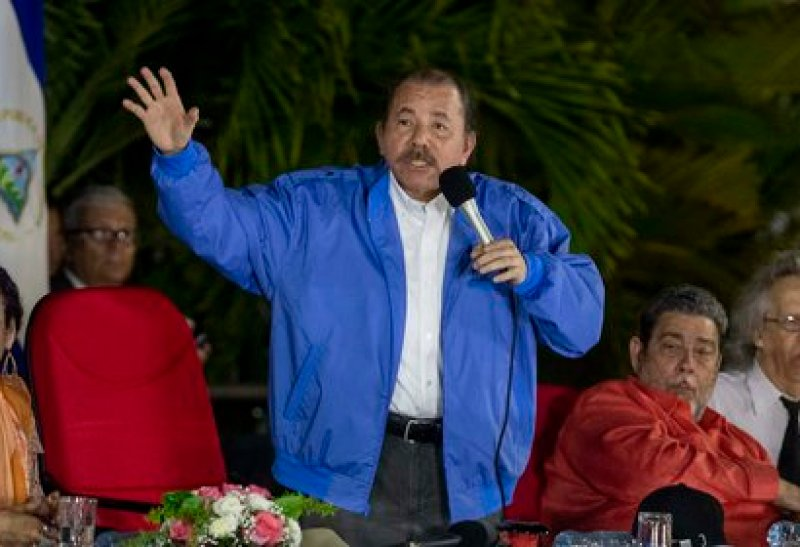 En la imagen, el mandatario nicaragüense Daniel Ortega. EFE/Jorge Torres
