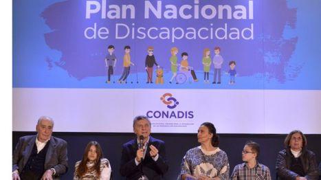 El Presidente Macri detalló hace algunos meses el nuevo plan de discapacidad y pidió la integración de los discapacitados (Presidencia)