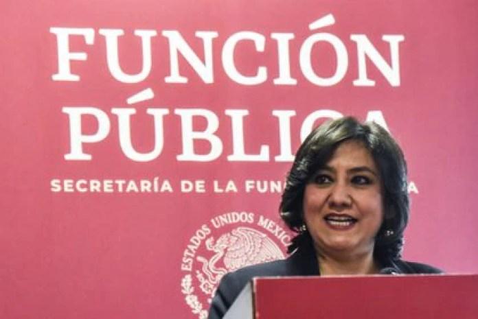 """Sandoval Ballesteros incitó a los servidores públicos del gobierno federal a """"trabajar guiados siempre por la ética"""" (Foto: Mario Jasso/Cuartoscuro)"""