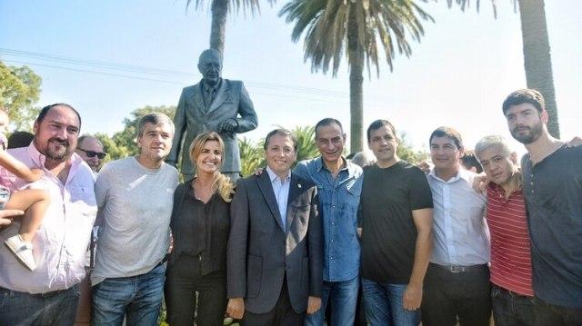 Intendentes del PJ bonaerense viajaron a Chascomús por Alfonsín