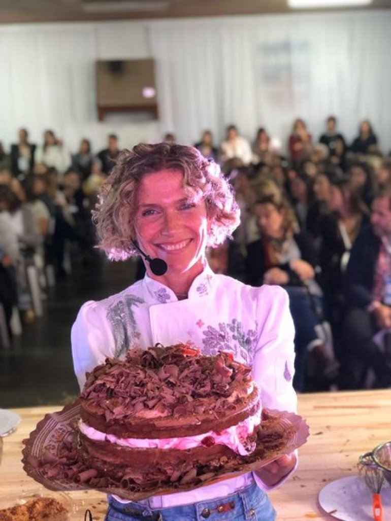 The pastry chef won the affection of the people and is one of the most recognized nationally