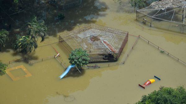 Inundaciones en Colombia (AFP)