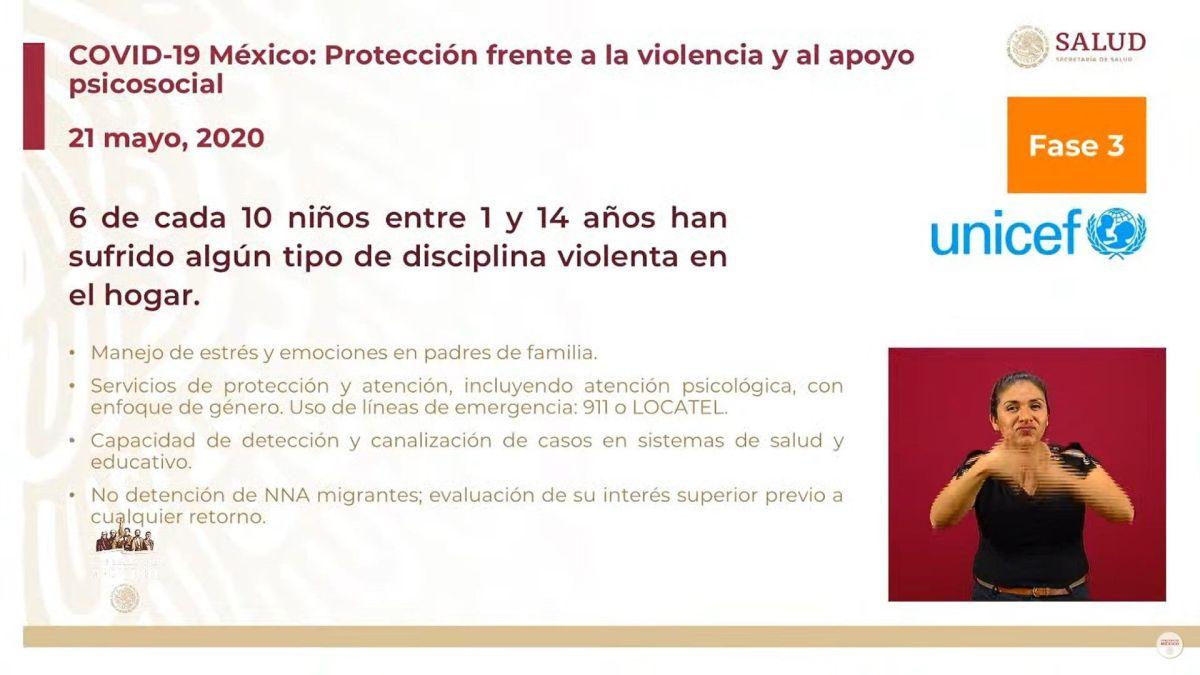 La UNICEF hizo un llamado a las autoridades para que tomen acción y protejan a los niños  (Foto: SSA)