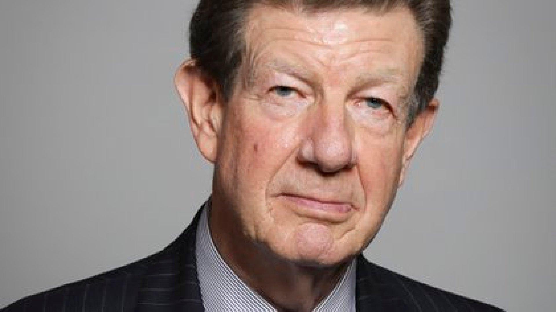William Peel, se jubiló después de más de 14 años en el puesto