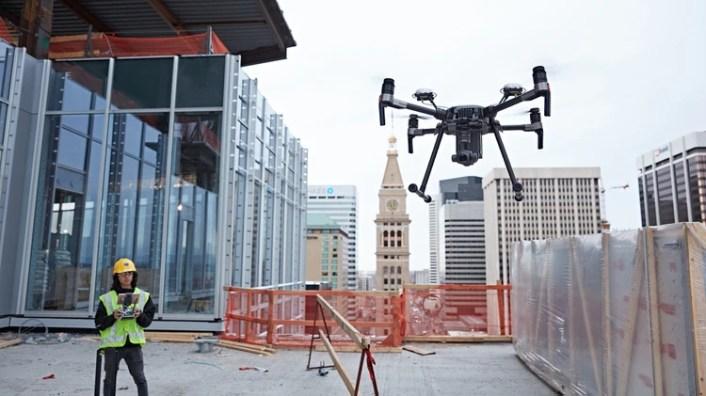 DJI es la empresa de drones civiles más utilizada del mundo