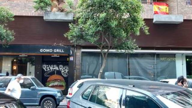 El local de Goiko Grill, la cadena de hamburguesas del empresario venezolano Andoni Goicoechea que es un éxito en la capital española.