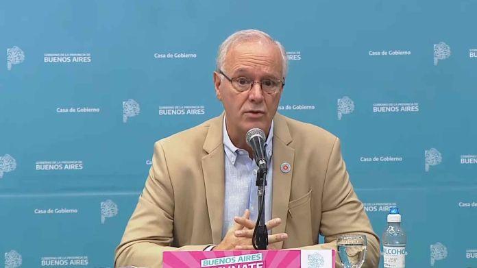 Daniel Gollán Informe sobre la situación epidemiológica en la Provincia