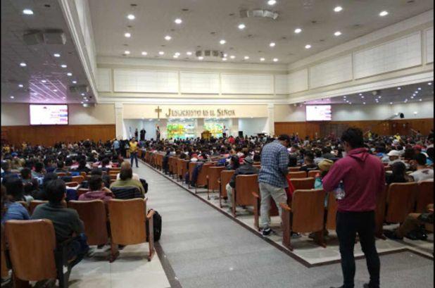 Iglesia Universal del reino de Dios - Sede templo central interior IURD Bs As Av Corrientes 4070