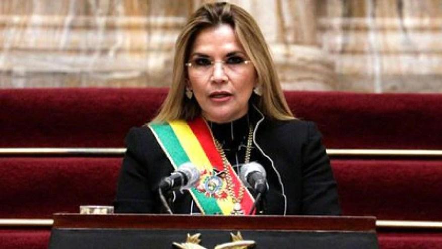 Die Regierung von Jeanine Áñez brach die Beziehungen zur Diktatur von Nicolás Maduro und behauptete, Evo Morales sei eine Person, die dem demokratischen Prozess in Bolivien feindlich gegenübersteht (REUTERS / David Mercado).