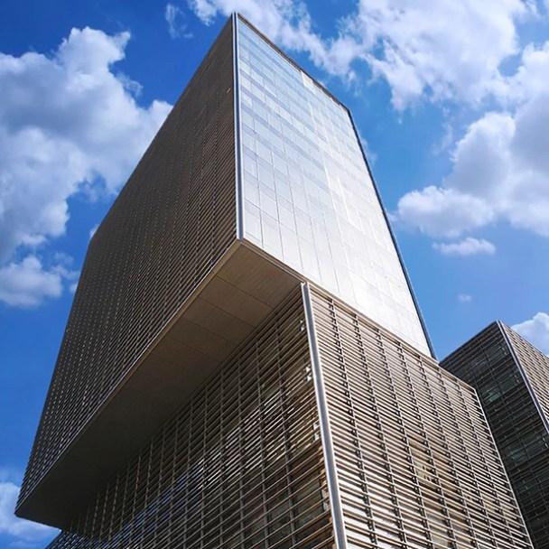 El edificio en el que está el estudio de abogados Cuatrecasas en Barcelona