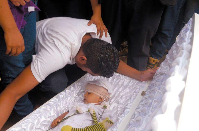 Bebé asesinado en Nicaragua