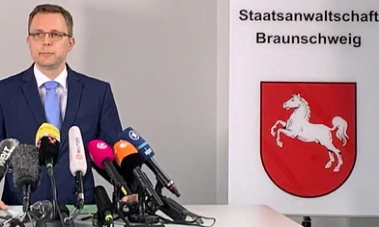 El fiscal Hans Christian Wolters. Foto: REUTERS/Erol Dogrudogan