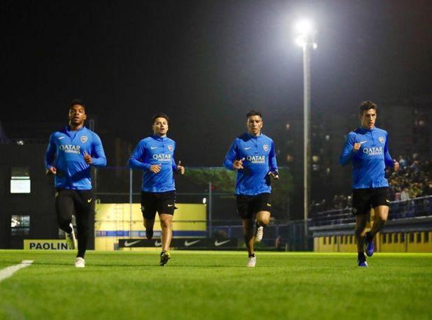 Boca se entrenará este viernes por la tarde noche para probar las nuevas luces led de la Bombonera (Prensa Boca)