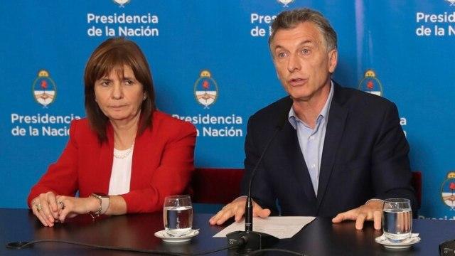 Macri y Bullrich informaron hace dos semanas del envío de la ley de barras bravas (NA)