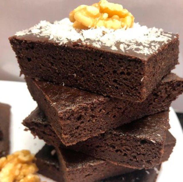 Brownie de porotos