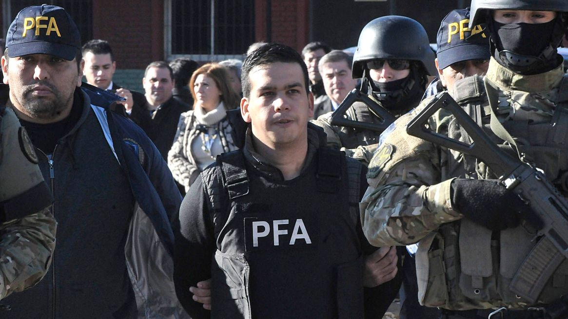 """Ramón Machuca, el otro jefe de la banda rosarina """"Los Monos"""" conocido como """"Monchi Cantero""""(Télam)"""